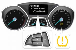 Ford Focus Reset The Tire Pressure Monitoring System Light