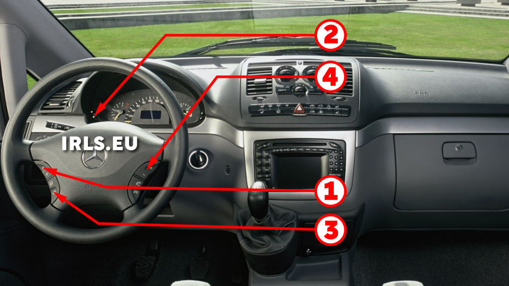 How to reset service light indicator Mercedes Viano W639
